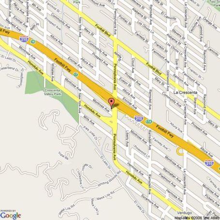 Google Maps To Lermont's Shoe Service in Glendale/La Crescenta, California