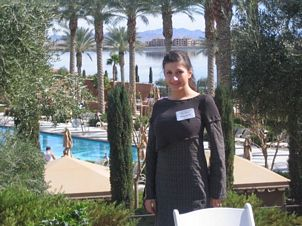 Diyana 'DiDi' Alcheva in Las Vegas at Dani Johnson's 'First Step to Success' Seminar, Homebased businesses