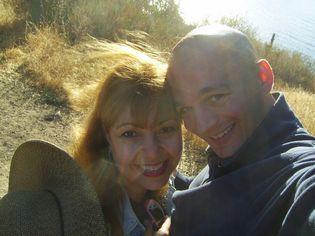 Patrick & Anna Dejean hiking in Lake Cachuma woods near Solvang, Santa Barbara, CA – Virtual jobs