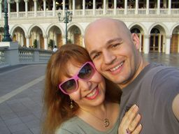 Patrick & Anna Dejean at The Venetian, Las Vegas - Ghost Writers, Elance