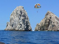 Steve Barrow Parasailing in Cabo San Lucas, Mexico - Online Business Ideas