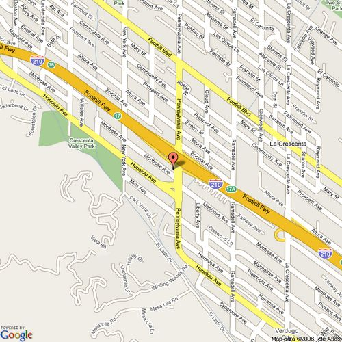 Google Maps To Lermont's Shoe Service in Glendale/La Crescenta, California