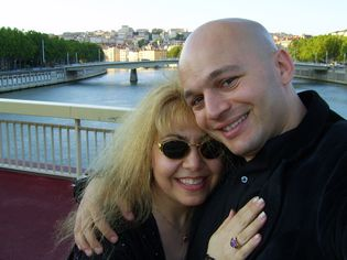 Patrick & Anna Dejean in Lyon Quais de Saone, France-Passive Income Opportunities Blog