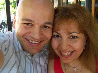 Patrick & Anna Dejean at Market City Café in Burbank, California-Cashflow 101