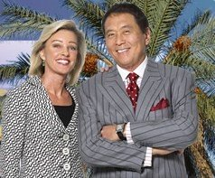 Robert Kiyosaki & his wife Kim Kiyosaki - Financial Liberty, Passive Income