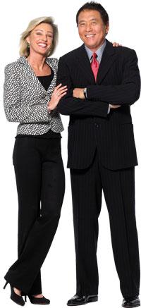 Robert Kiyosaki & his wife Kim Kiyosaki - my rich dad, buy and sell companies