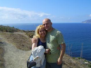 Anna & Patrick Dejean in Catalina Island, Los Angeles, California-Make Money Working Online